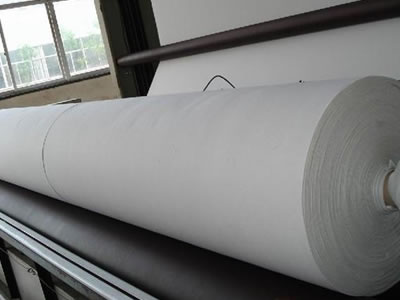 An enlarge picture about long fiber geotextile fabric produce process.