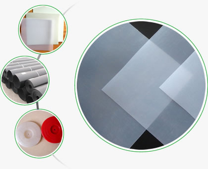 Geomembrane series products and white, red hot melt gaskets.